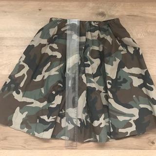 ROSE BUD カモフラ スカート