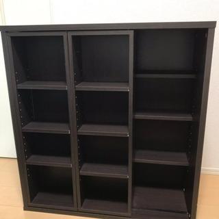 【お取引中】スライド式本棚