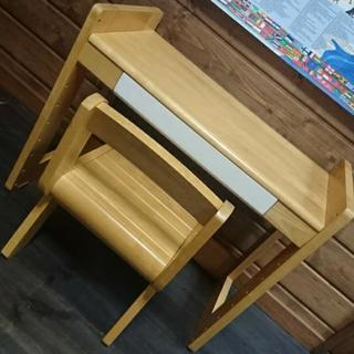 最終値下げ!幼児用 子供  机・椅子のセット 北欧