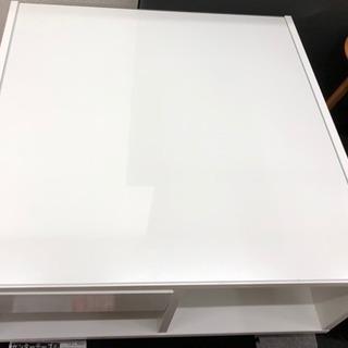 ローテーブル センターテーブル 幅80 正方形
