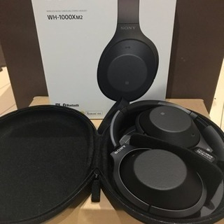 SONY WH-1000X M2 Bluetoothヘッドフォン