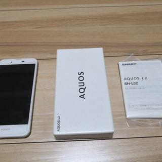 シャープ スマートフォン AQUOS L2 中古 ホワイト