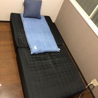 一人暮らしの方にオススメ!脚付 シングルベッド