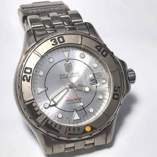 ★POLO ポロチーム チタニウム メンズ腕時計  ダイバー Q...