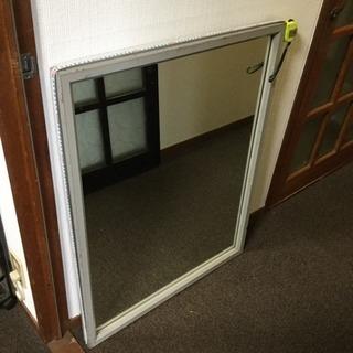 グレー姿見鏡 高さ90センチ 幅70センチ 厚さ5センチ