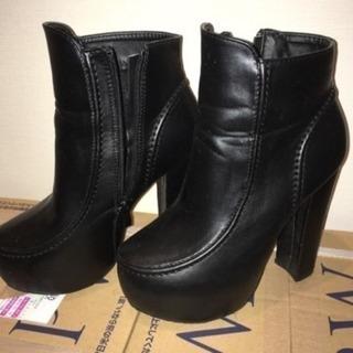 ブーツ ブーティー 黒