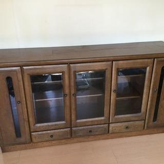 ■配達可■カリモク ローボード 食器収納 食器棚 W181.5 D...