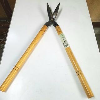 木柄刈込鋏 刈り込みばさみ 150mm ①