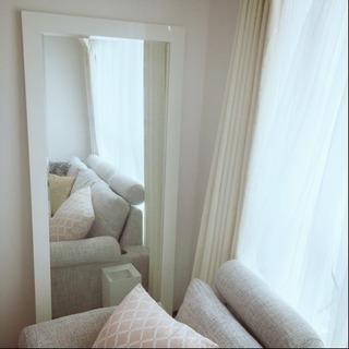 【美品】franfranc大型全身鏡70×160センチ♡