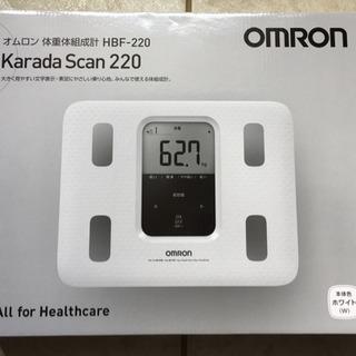 オムロン 体重体組成計 HBF-220 カラダスキャン