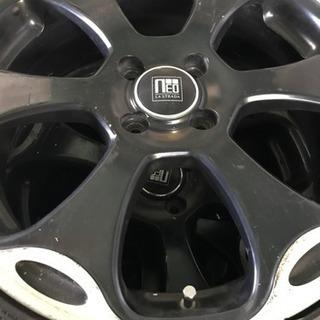 軽タイヤホイール4本