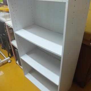 カラーボックス 収納棚 幅61cm ラック ホワイト 完成品
