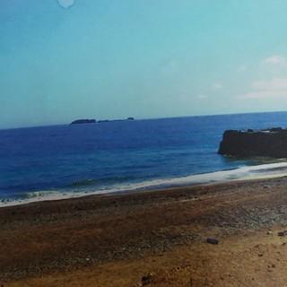 海と緑豊かな自然が多い伊勢志摩、目前は海辺になっており堤防が近く...