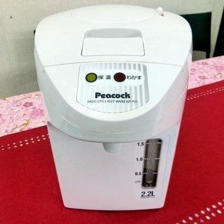 ピーコック 電気保温エアーポット(非沸とうタイプ) WJP-22...