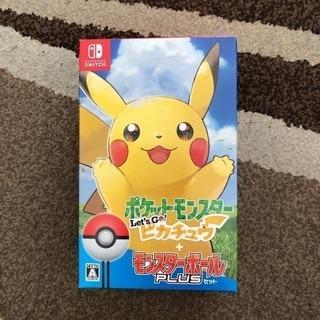 【新品・未使用】switch ソフト レッツゴーピカチュウ モン...