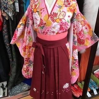 卒業式に! 子供用袴 美品セット ハイカラさん仕様