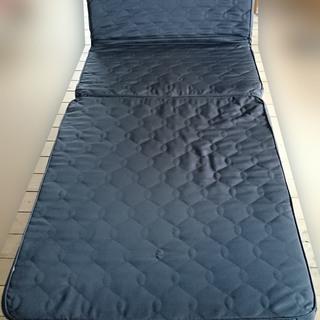 【中古】コーナン 低反発折りたたみベッド BD30ー25ー4HC