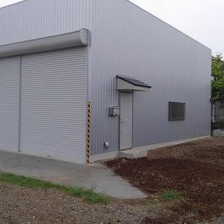 倉庫、車庫、工場 作ります