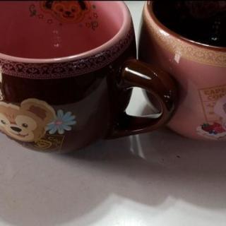 ダッフィーとシェリーメイのスーベニア マグカップ