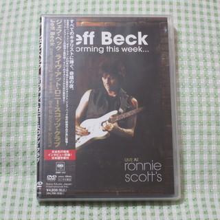 """美品!Jeff Beck  ジェフベック """"ライブ・アット・ロニ..."""