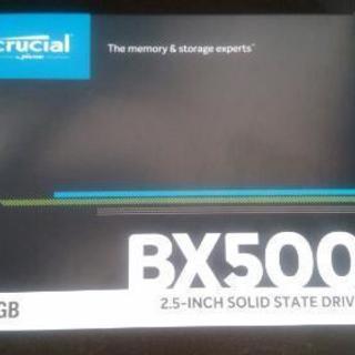 新品未使用 SSD crucial BX500 480GBの画像