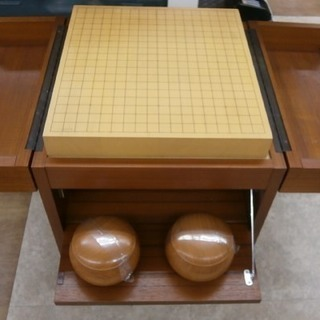 ,【引取限定】碁盤 収納ケース+碁石付 【ハンズクラフト八幡西店】