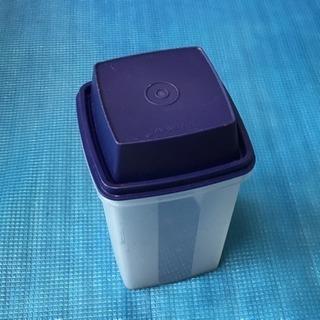タッパーウェア  スティック野菜容器  ブルー
