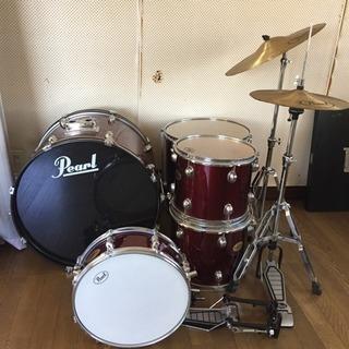 Pearlドラムセット
