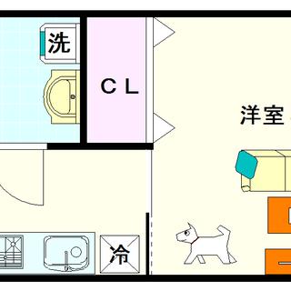 【幸田マンション幸町】1号タイプ!1Kタイプ!ペットOKの物件ですよ☆
