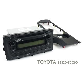 トヨタ TOYOTA 純正 CD チューナー パネル セット 8...