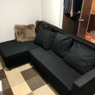 L字型ソファ&ベッド