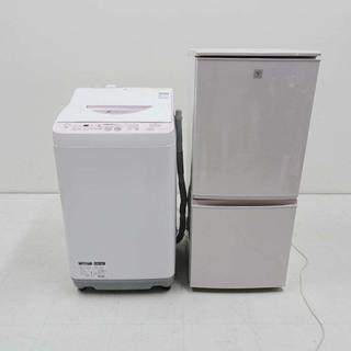 良品 動作保証 家電 2点セット シャープ 冷蔵庫 SJ-PD1...