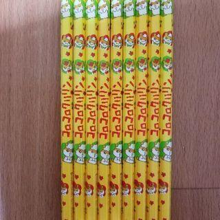 【未使用】コロコロクリリン 2B 六角鉛筆 9本セット