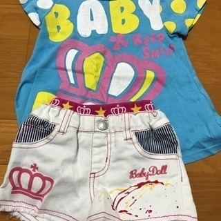 ⭐︎baby doll Tシャツ パンツ 80⭐︎