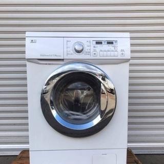 【受付中】送料無料 美品 稀少モデル 欧米デザインドラム式洗濯乾...