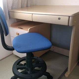 学習机と椅子のセット