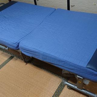値下げ◆ 折りたたみ シングル ベッド 厚め マットレス ◆