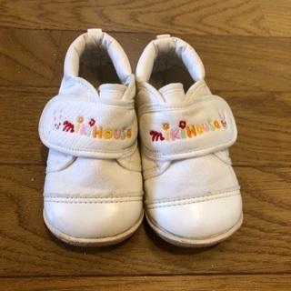 ミキハウス  12センチ  靴  used  700円