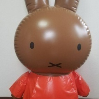 お値下げ可⭐️ミッフィービニール人形(非売品)  - 札幌市