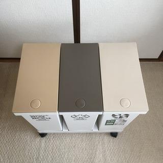 【募集中】ASVEL 資源ごみ 横型分別ワゴン ゴミ箱 - 川崎市