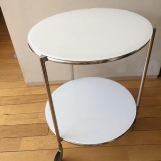 引越に伴う大放出:円形サイドテーブル