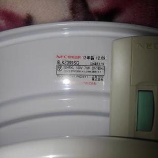 2個セット!シーリングライト ホタルック搭載 2012年製NEC製 6~10畳用 - 家電