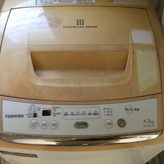 特価2,000円★東芝2012年洗濯機 - 志布志市