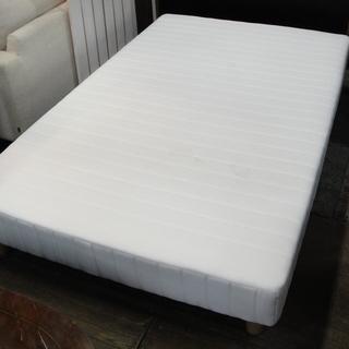 セミダブルサイズ 脚付きマットレスベッド