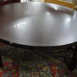 折りたたみテーブル 円卓 ローテーブル