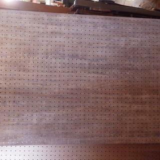 有孔ボード 木目パンチングボード (カット可)