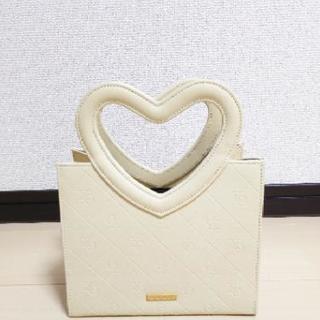 【美品】xoxo キスキス ハンドバッグ ハート バッグ レディース