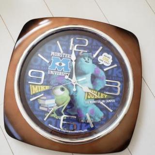 モンスターズインク 掛け時計 時計 ディズニー