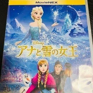 ジャンク品 アナと雪の女王 BD &DVD
