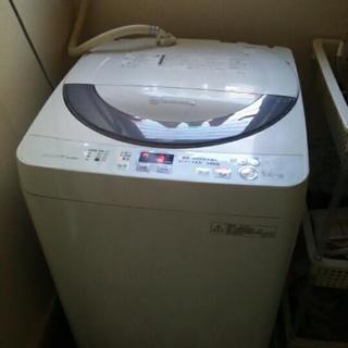 SHARP  5.5kg  全自動洗濯機 中古